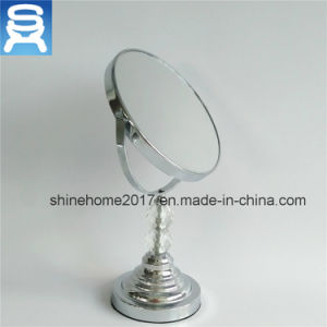 7inch Bathroom Mirror, 1X/5X Magfication Table Cosmetic Bathroom Mirrors pictures & photos