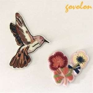 2017 New Arrival Birds and Flowers Patch pictures & photos