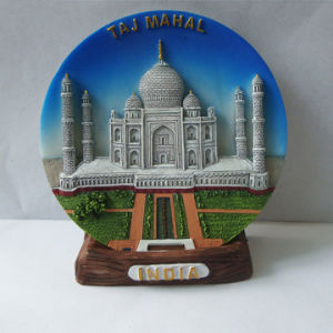 Custom 3D Indian Polyresin Fridge Magnet for Deco pictures & photos