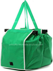 Shopping Grocery Tote Bag Non-Woven Bag TV Grab Bag pictures & photos