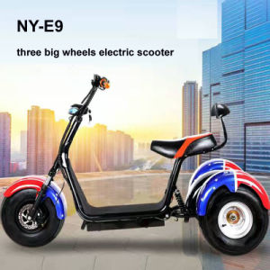Harley Citycoco Electric Tricycle with 1000W Shaft Motor pictures & photos