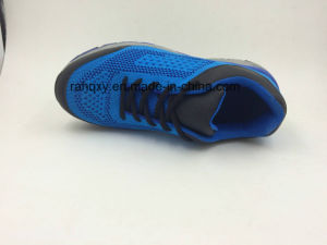 Light and Comfortable Flyknit Fabric Safety Working Shoes (16038) pictures & photos
