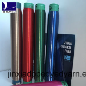 Dope Dyed Polyester Yarn Monofilament 50d/1f pictures & photos
