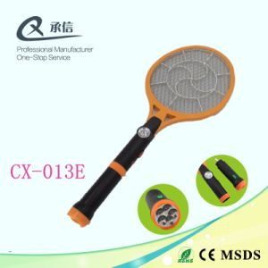 Three Layers Eco-Friendly Rechargeable Mosquito Racket with LED Light & Separable LED Torch pictures & photos