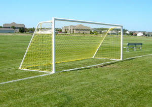 Official Full Size Professional Aluminum Soccer Goal with Wheels pictures & photos