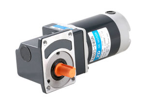 DC MOTOR, SPIRAL BEVEL RIGHT ANGLE TYPE. 40mm 25W pictures & photos
