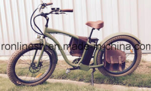 Beach Cruise Classic/Vintage/Retro 250W/500W 26X4 Electric Fat Tyre Bike/E Fat Tire Bicycle/Electric Snow Bike/E Fatty Bicycle/E Sand Bike/E Fatty Tire Bike Ce pictures & photos