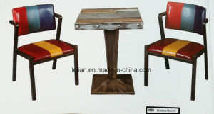 American Village Bar Chair with Metal Structure (LL-BC038) pictures & photos