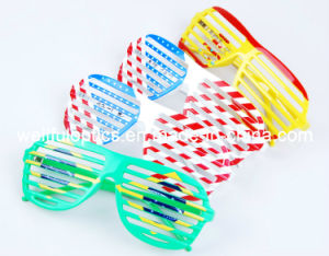 Newest National Flag Party Glass Frame Sunglasses