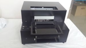 High Speed A3 A4 Size UV LED Digital Flatbed Printer for T-Shirts pictures & photos