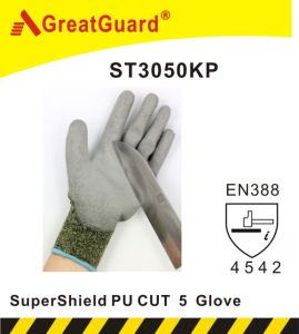 Greatguard Supershield Nitrile Cut 5 Glove (ST3050N) pictures & photos