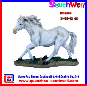 Polyresin Horse Animal Figurine (NW1249G)