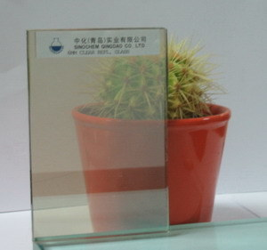 Clear Reflective Glass
