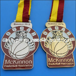 Basketball Games Die Casting Medals with Ribbon (ASNY-MM-CZ-171) pictures & photos
