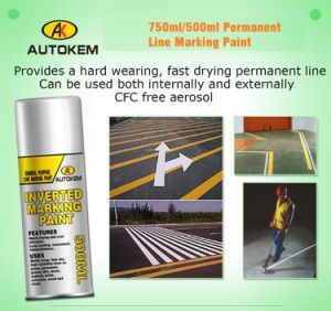 750ml Line Marking Paint, Inverted Marking Paint, Road Marking Paint, Layout Paint pictures & photos