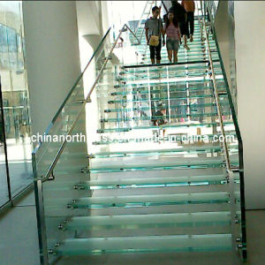Laminated Glass Steps pictures & photos