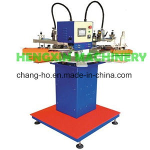(HX-1310X8) Wedding Card Rotary Screen Printing Machine pictures & photos