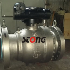 12inch 600lb CF8m Trunnion Mounted Ball Valve pictures & photos