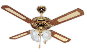 china decorative ceiling fan (fc952-4c4l(ab)) - china ceiling fan, fan