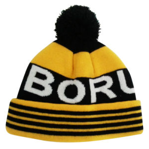 Best Sale Knitted Beanie with Sublimation Printing NTD1678 pictures & photos