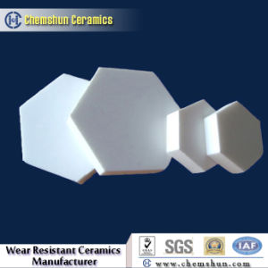 Hexagon Alumina Ceramic Lining Mats as Ceramic Pulley Lagging pictures & photos