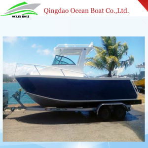 Low Price of 6.25m Aluminum Pleasure Fishing Yacht pictures & photos