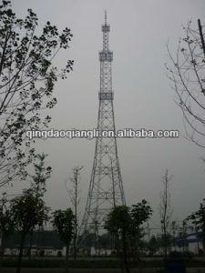 Three/Four Legged Telecom Tubular/Angular/Triangular Lattice Steel Tower