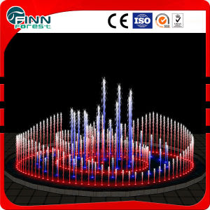 Outdoor or Indoor Water Feature Underground Multicolored Floor Water Fountain pictures & photos