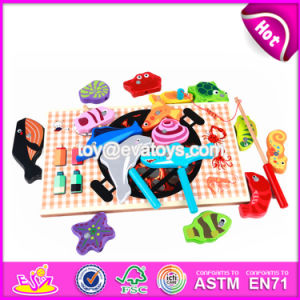 New Design Sea Animals Children Educational Wooden Magnetic Toys for Toddlers W01A195 pictures & photos
