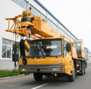 Low Price 16tons Four-Section Boom Truck Crane with Hydraulic Control pictures & photos