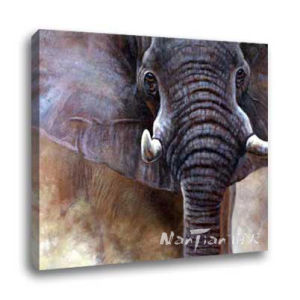 Oil Painting - Elephant (H020)