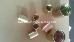 Male Jic Thread Hydraulic Hose Fitting and Hose Ferrule pictures & photos