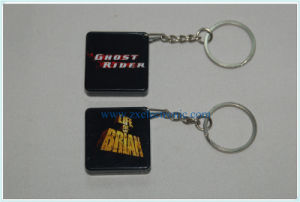 PVC Sound Keychain with Your Option Shape