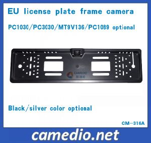 HD Waterproof License Plate Frame Car Camera for European Cars with 170 Degree Wired&Wireless pictures & photos