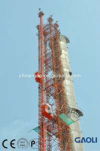 China Brand Double Cage with CE Approved Electric Construction Hoist / Lifting Equipment pictures & photos