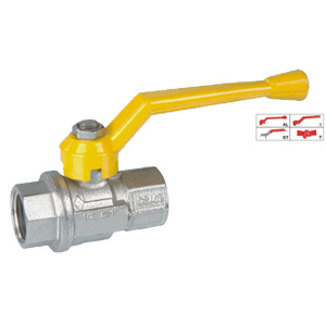 Brass Ball Valve (BV-1017) F/F with Aluminium Handle