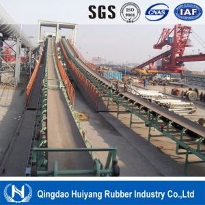 Harbor Long Distance Conveying Steel Cord Rubber Conveyor Belt