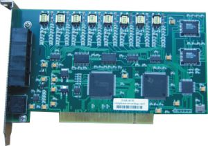 8-Port Telephone Recording Card