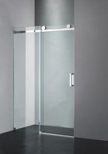 Upc-05 Straight Frameless Double Sliding Shower Door pictures & photos