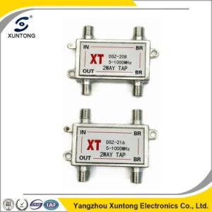 CATV Splitter 2 Way Tap 5-1000MHz Indoor Tap pictures & photos