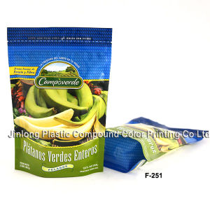 Frozen Fruit Food Bag with Zipper pictures & photos