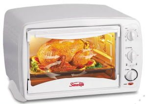 Electric Toaster Oven / Convection Oven with Competitive Price, 1500W, Indicator Light
