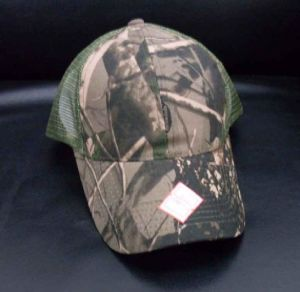 100% Cotton Camouflage Cap (HXH0019)