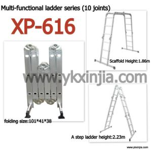 Aluminum Ladder with Ten Joints (XP-616)