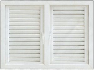 PVC Shutter Window (TS-019)