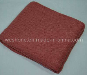 100% Bamboo Herringbone Blanket Bb-0703 pictures & photos