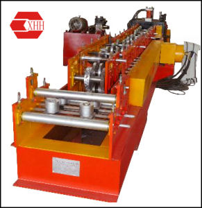 Manual C-Shaped Purline Forming Line with Pre-Punching and Pre-Cutting (C80-250) pictures & photos