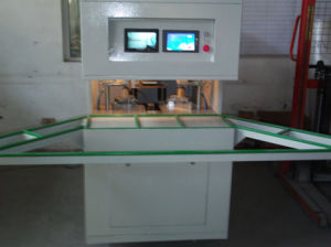 CNC Corner Cleaning Machine of PVC Window Cleaning Machine pictures & photos