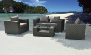 Outsunny Outdoor Patio PE Rattan Wicker Rattan Sofa pictures & photos