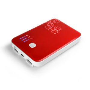 5500ma Mobile Power Portable Power Battery Power for Mobile Phone PDA Red